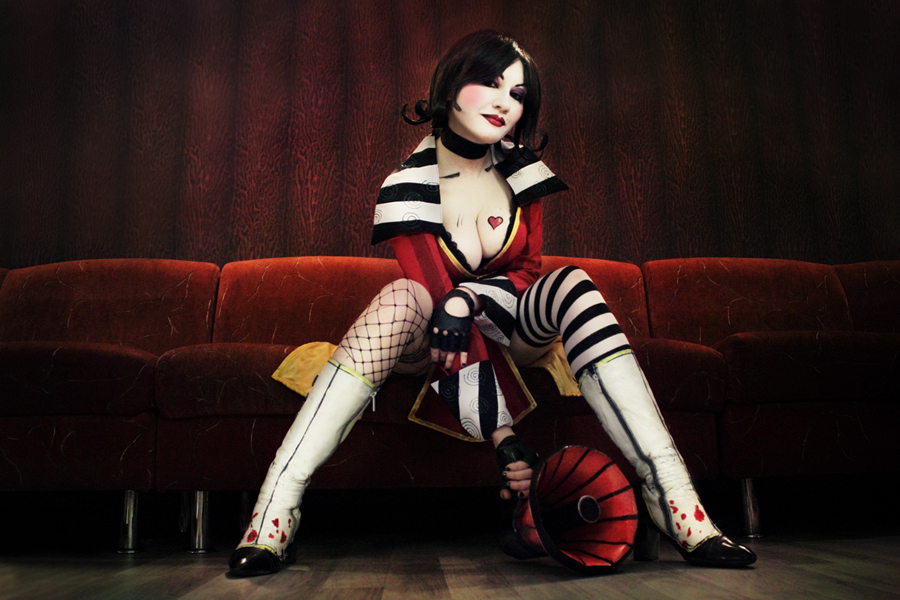 Mad Moxxi, cosplay'