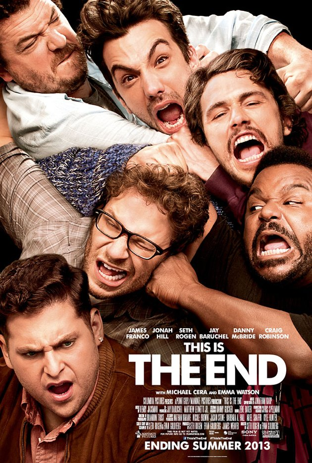 Plakat filmu 'This is the End'