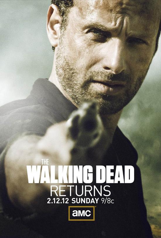 Plakat trzeciego sezonu 'The Walking Dead''