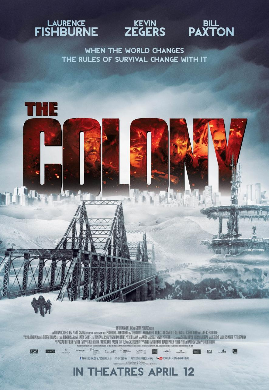 Plakat filmu 'The Colony'