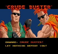 Crude Buster/Two Crude Dudes