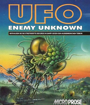 Okładka gry 'UFO: Enemy Unknown'