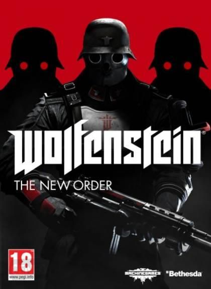 Okładka gry 'Wolfenstein: The New Order'