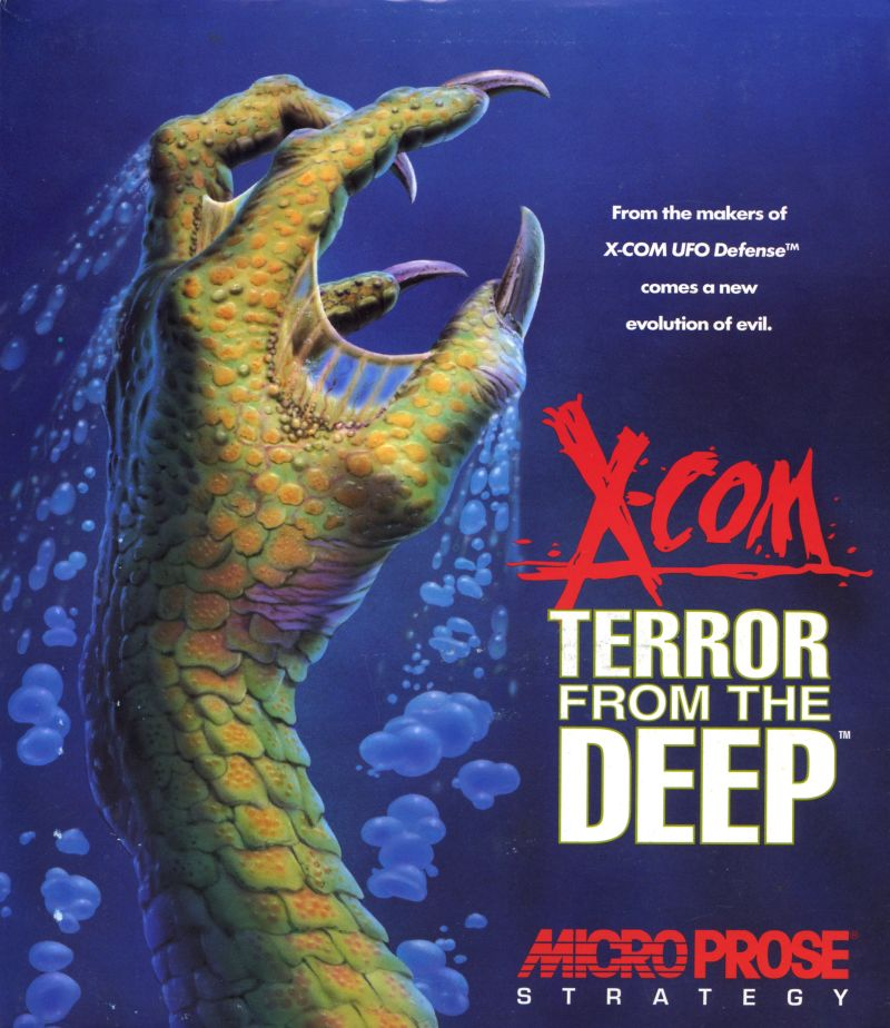 Okładka gry 'X-COM: Terror from the Deep'