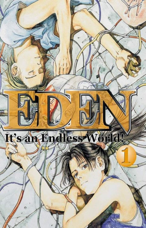 Okładka komiksu 'Eden: It's an Endless World'